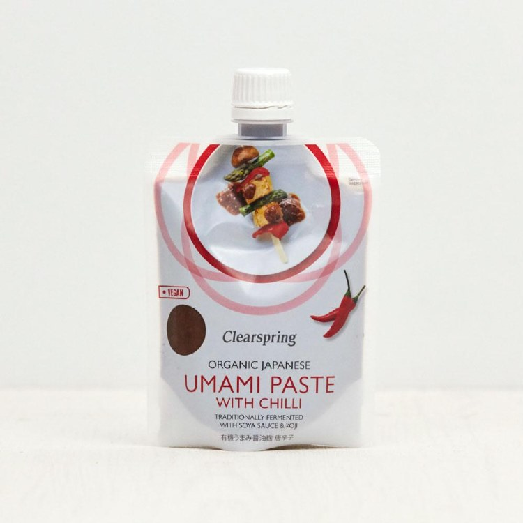 Organic Umami Paste with Chilli