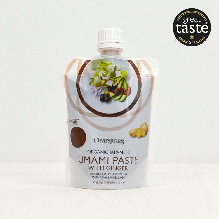 Organic Umami Paste with Ginger