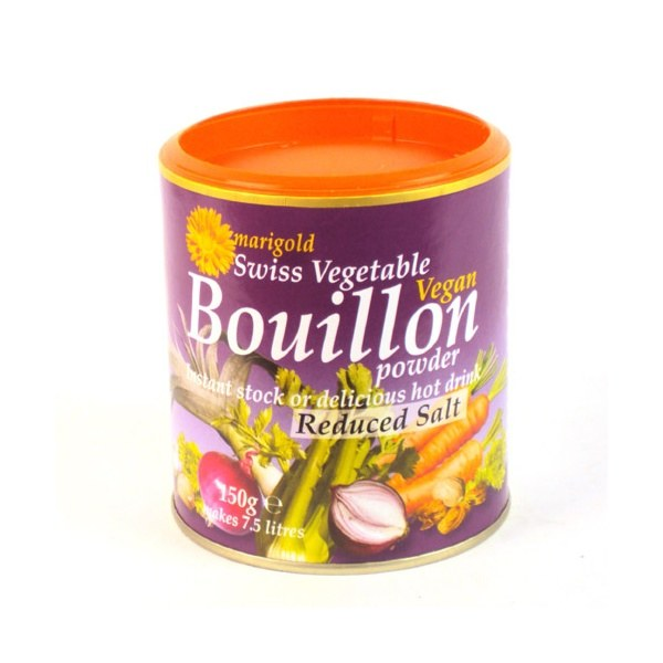 Vegetable Bouillon Powder Less Salt