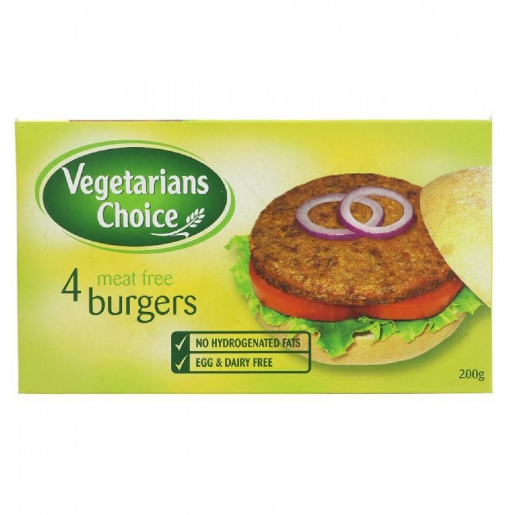 Four Meat Free Burgers