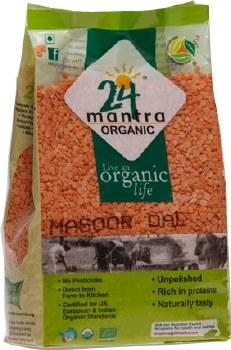 24 Mantra Og Masoor Dal 2lb