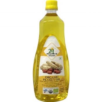 24 Mantra Peanut Oil 33.8oz
