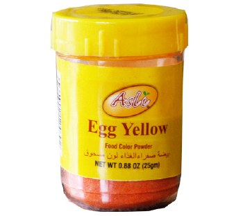 Asli Egg Yellow Food Color