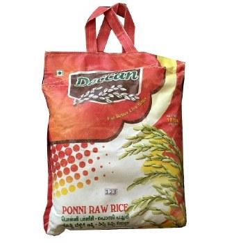 Deccan Ponni Raw Rice 10lb