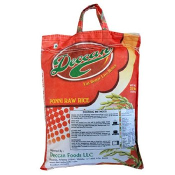 Deccan Ponni Raw Rice 20lb