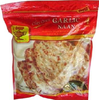 Deep Garlic Naan 300g