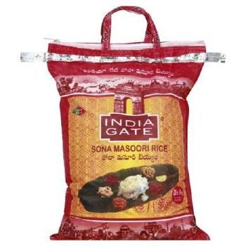 India Gate Sona Masoori 20 Lbs