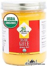 24 Mantra Organic Ghee14oz