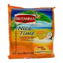 BRITANNIA NICE TIME COCONUT 16.9OZ