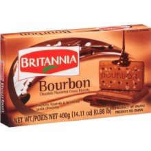 BRITANNIA BOURBON CHOCO 13.7OZ