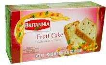 BRITANNIA FRUIT CAKE 9.7OZ