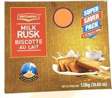 Britannia Milk Rusk 1.12kg