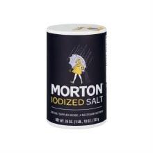 MORTON IODIZED SALT 26OZ
