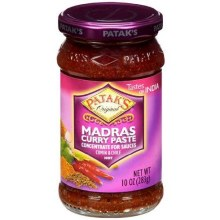 PATAK'S MADRAS CURRY PASTE 10OZ