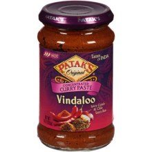 PATAK'S VINDALOO PASTE 10OZ