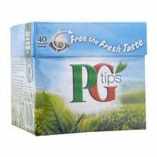 PG TIPS 40 PYRAMID TEA BAGS