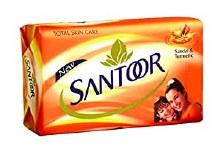 Santoor Soap Almond&honey 150g