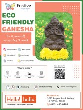 Ganesha Eco Friendly Do It Yourself