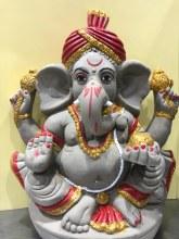 Ganesh Idol Painted Eco Friendly