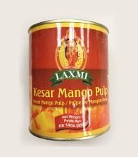 Laxmi Kesar Mango Pulp 6 Tin Case