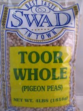 Swad Toor Whole   4 Lb