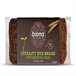 Org Sprout Mix Rye Bread