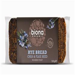 Org Rye Chia Bread