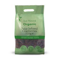 Org Juice Infused Cranberries