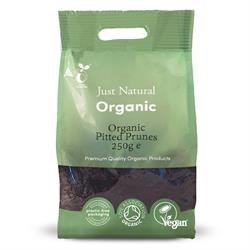 Organic Pitted Prunes 250g