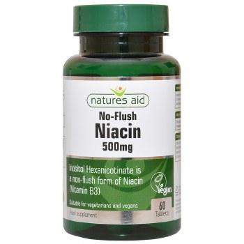 No Flush Niacin (B3) 500mg