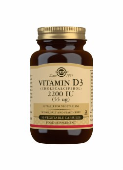Vitamin D3 2200 IU 50s