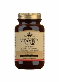 Vitamin E 134 mg (200 IU) 50s