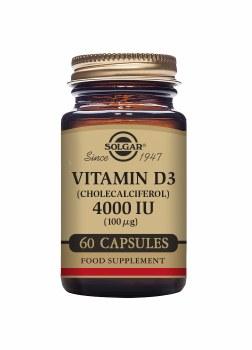 Vitamin D3 4000 IU 60s