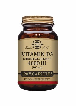 Vitamin D3 4000 IU 120s