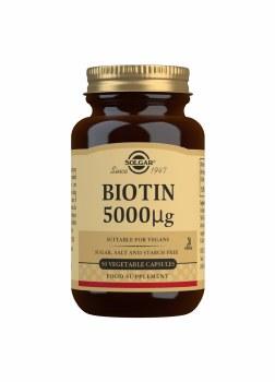 Biotin 5000 g Vegetable Capsul