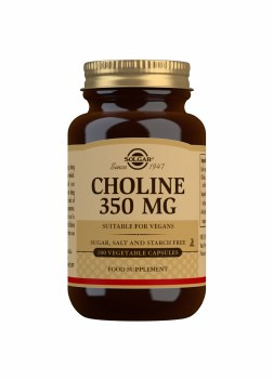 Choline 350 mg Vegetable Capsu