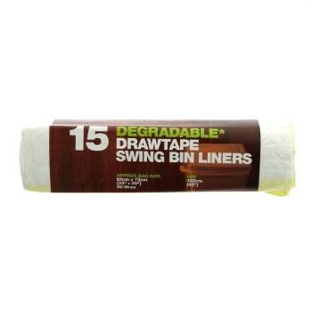 D2w Drawtape Swing Bin Liner
