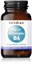HIGH SIX Vitamin B6 30s