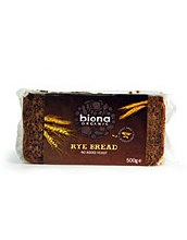 Organic Wholemeal Rye Bread