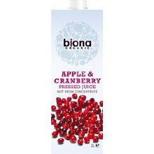 Org Apple & Cranberry Juice