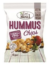 Eat Real Hummus Chip Tom Basil
