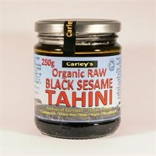 Org Raw Black Sesame Tahini