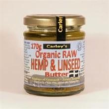 Org Raw Hemp & Linseed Butter