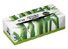 Bamboo Facial Tissue Flat Box