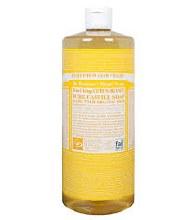 Citrus Castile Liquid Soap