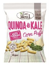 Quinoa Kale Puffs Cheese