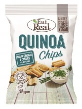 Quinoa Sour Cream Chive Chips