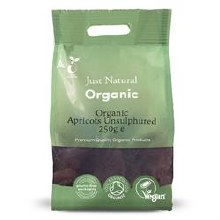 Organic Unsulphured Apricots 2