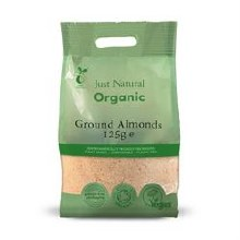 Organic Almonds Ground