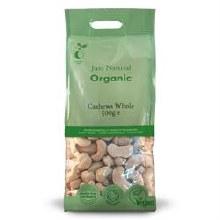 Organic Cashews Whole